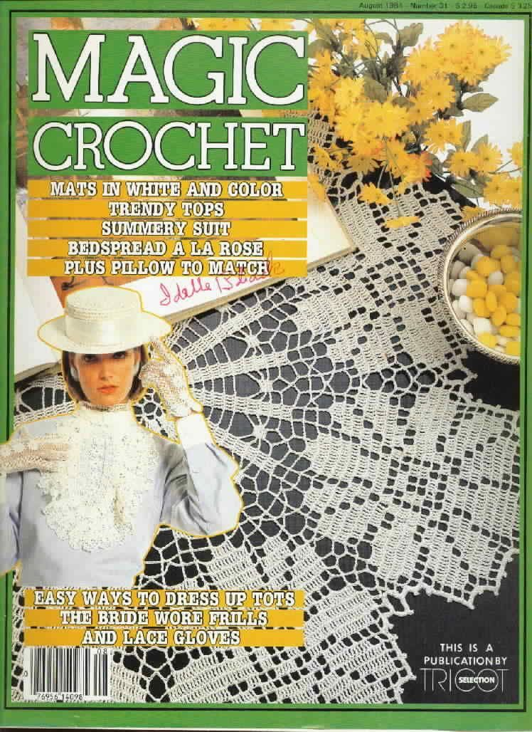 Magic Crochet No. 31 ~ Free Crochet Patterns