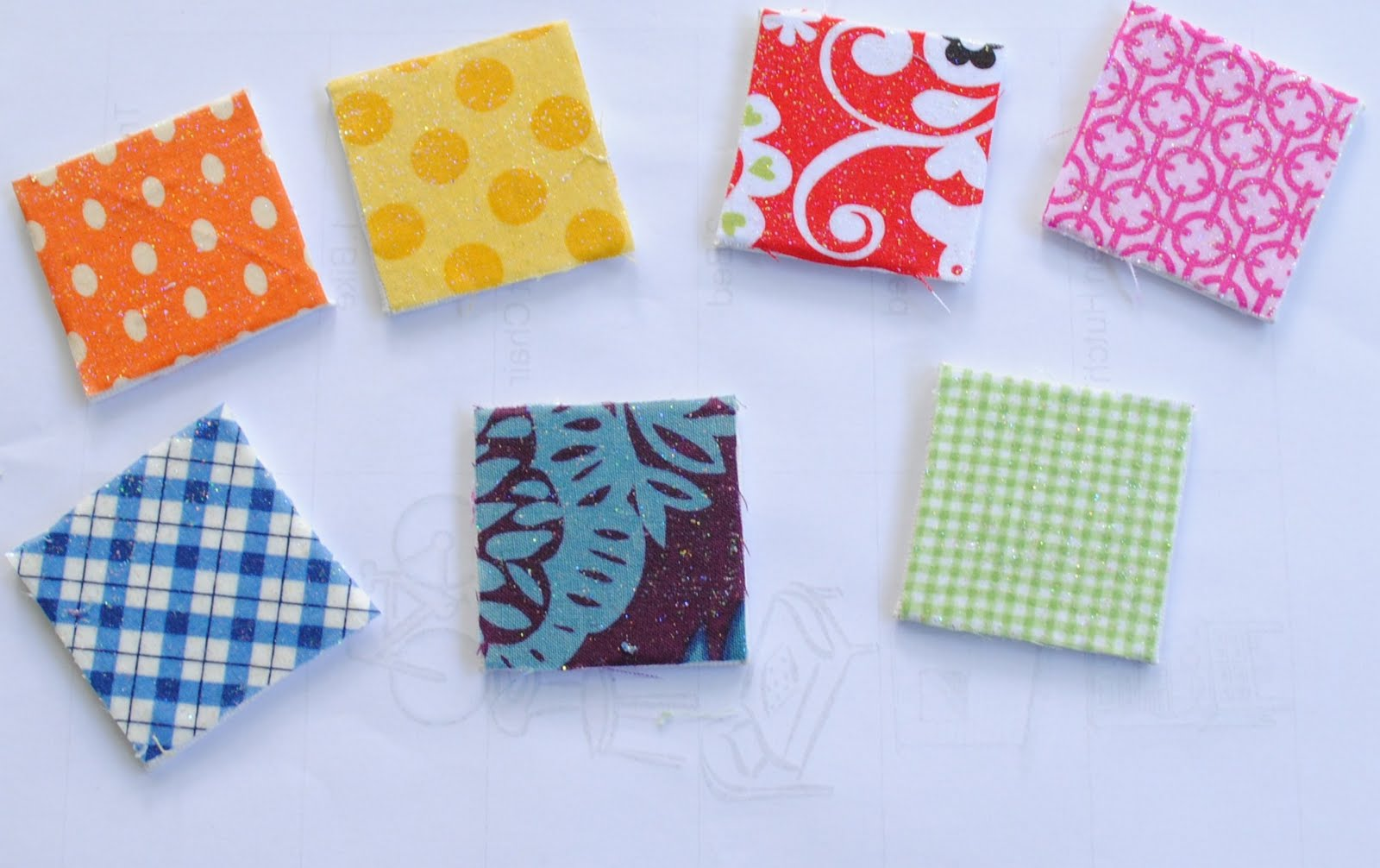 Guest post scrap fabric magnets by boy oh boy oh boy for Small magnets for crafts