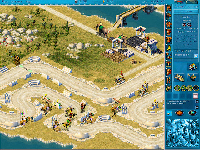 Poseidon: Master of Atlantis - Hippodrome Screenshot