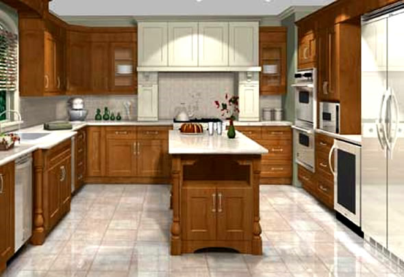 Interior design software - Cool free kitchen planning software making the designing phase easier ...