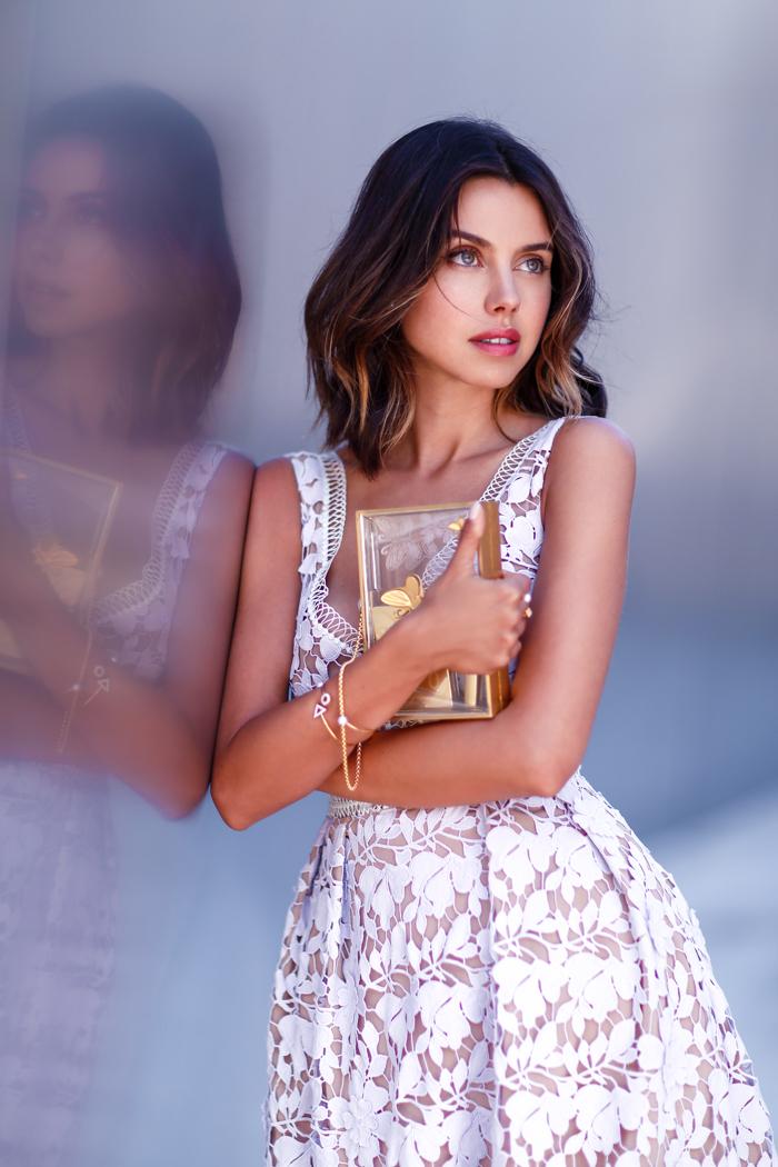SELF PORTRAIT Guipure lace dress, SELF PORTRAIT lace dress