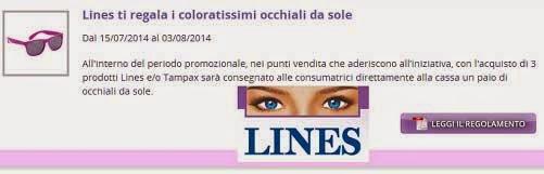 occhiali lines