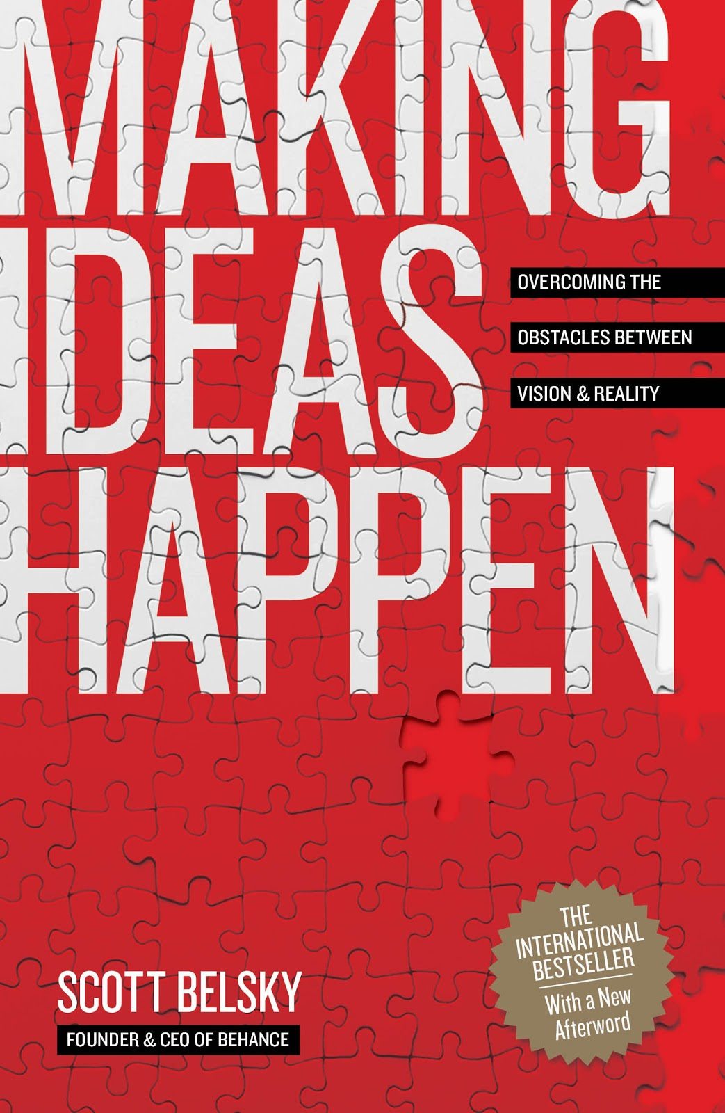 Making Ideas Happen Book Cover | An Entrepreneur's Spring + Summer Reading List | Book Recommendations | Boone, NC Photographer