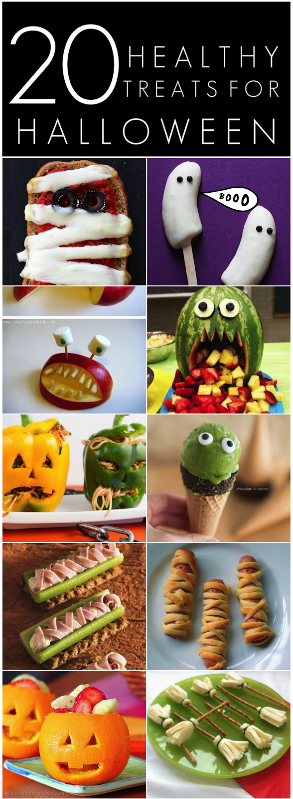 20 Healthy Halloween Treats For kids