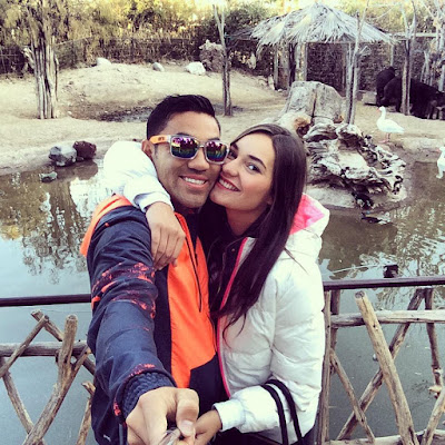 La nueva novia de Marco Fabián es jugadora de Futbol Americano
