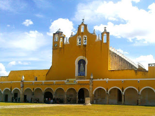 Iglesia Izamal Virgen Concepcion