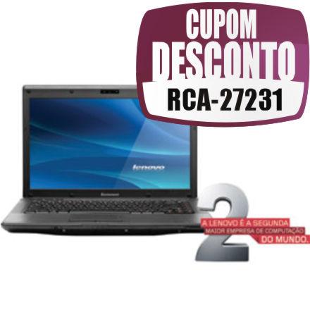 Cupom Efácil - Notebook Lenovo G460 Core I3