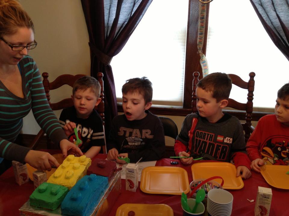 Let S Panic Lego Birthday Party