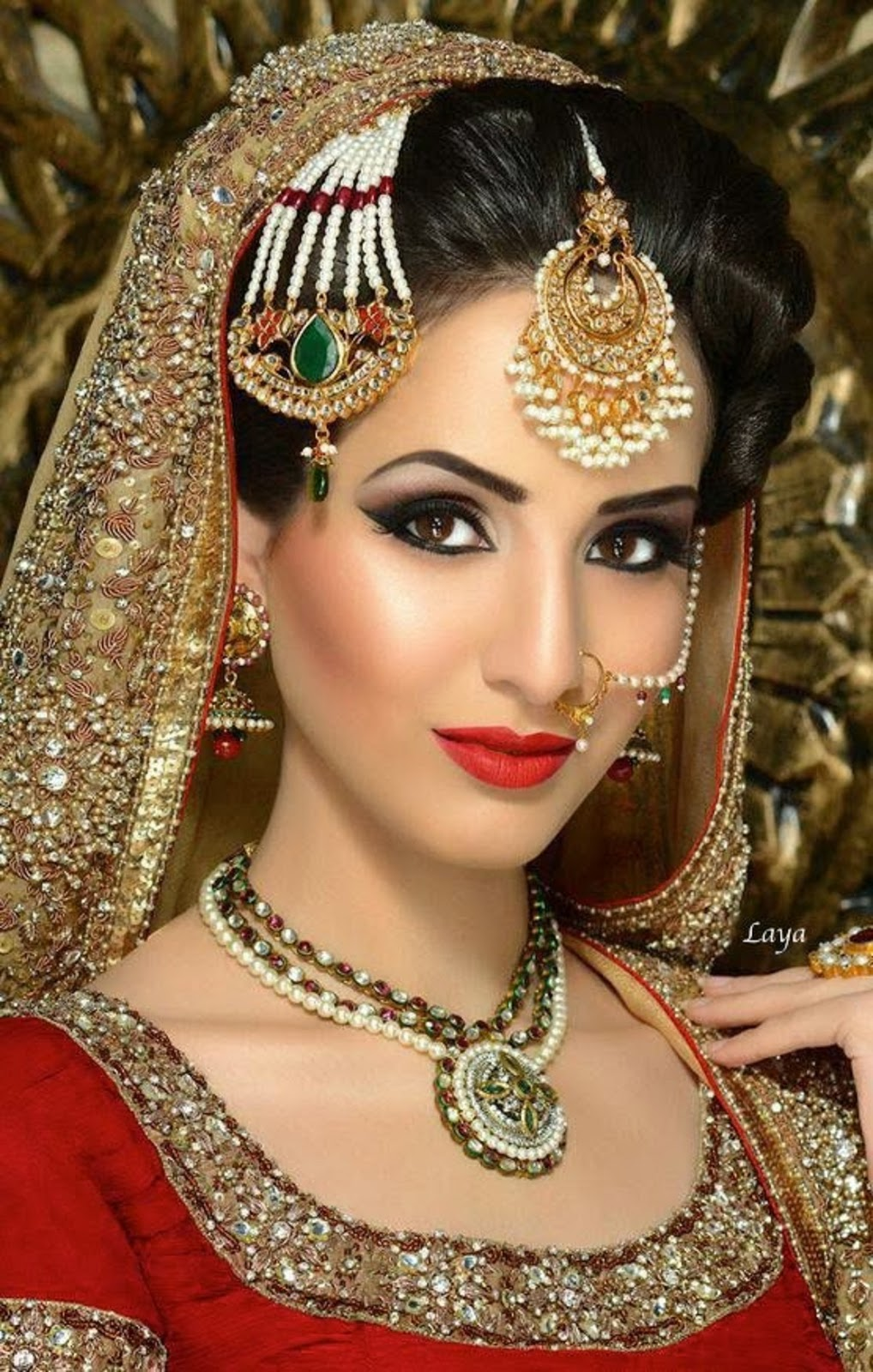 Beauti Stylish Bridal Makeup Ideas For Bridal 2015 Image ...
