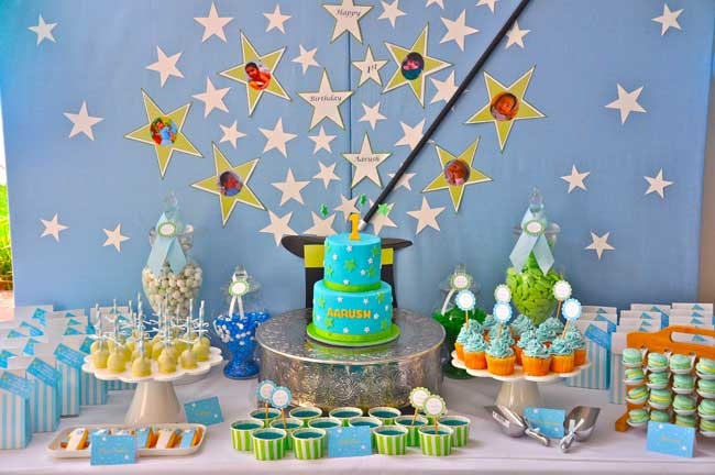 Magic birthday party ideas magic birthday party supplies for 1st birthday party decoration ideas for boys