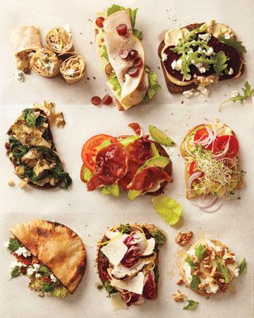 sandwich combinations