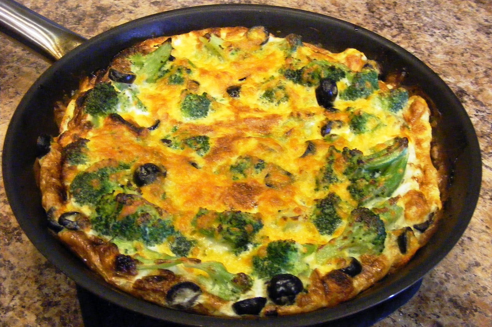 Make Your Someday Today!: Broccoli Cheddar Frittata