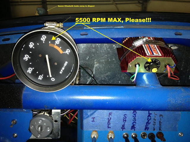 MGB Rev Limiter - Saves us from ourselves