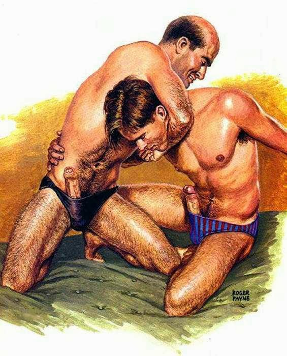 отец и сын гей-порно