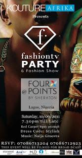 """Kouture Afrika & Fashion TV present """"The FTV Party & Fashion Show"""" – 10th September 2011 1"""