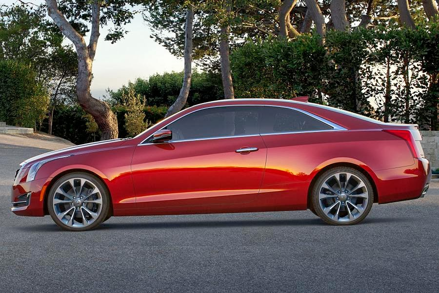 Cadillac ATS Coupe (2015) Side