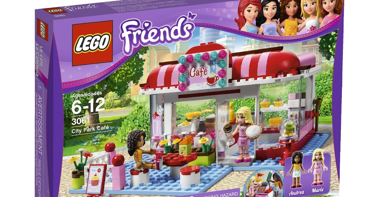 Lego Friends City Park Cafe 3061 Lego Friends City Park Cafe 3061
