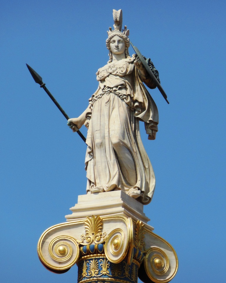 Athena As A Female Goddess Object Worlds In Ancient