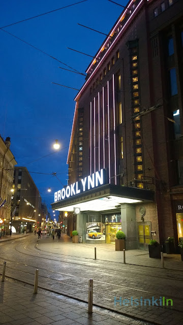 During September Stockmann is Brooklyn
