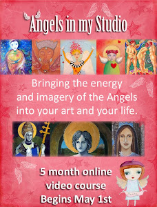 Angels in my studio class