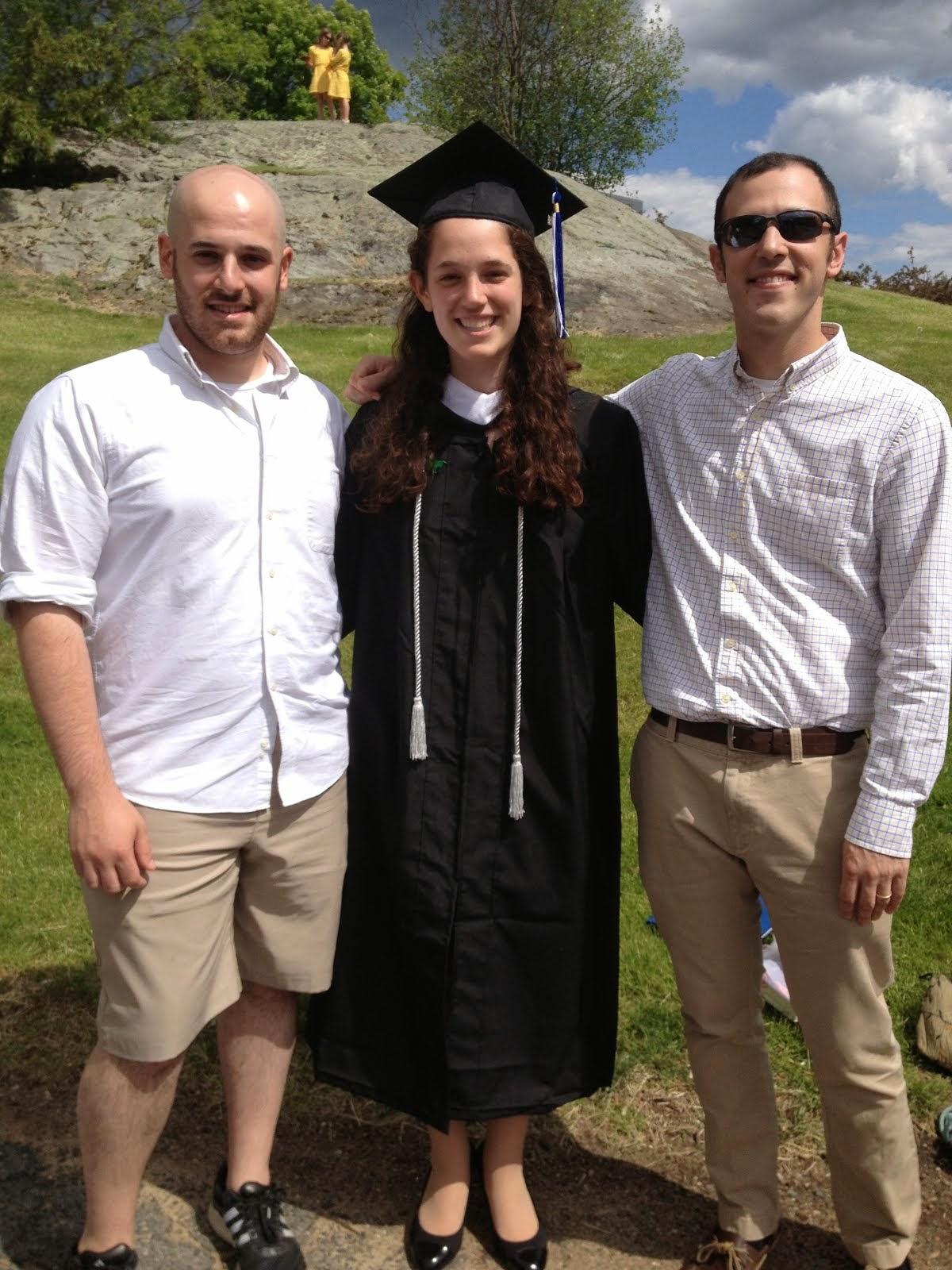 Brandeis graduation