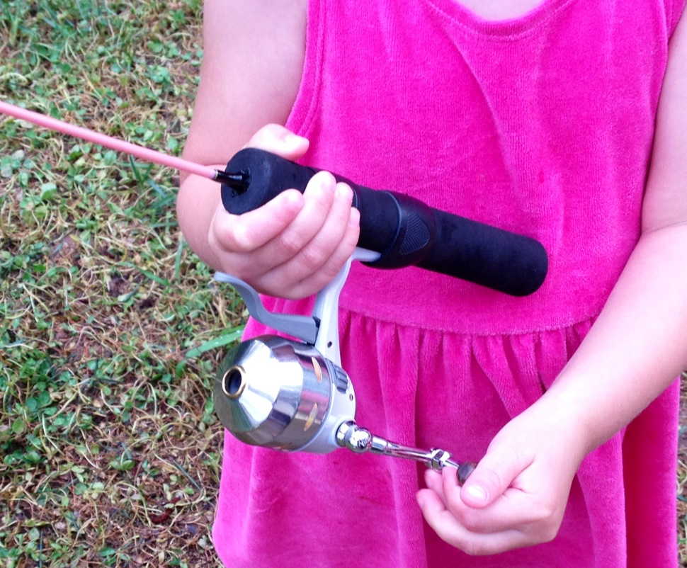 Inside nc fishing in north carolina raising a sportsman for Mighty mite fishing rod