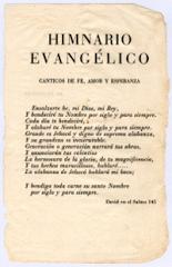 Himnario Evangélico