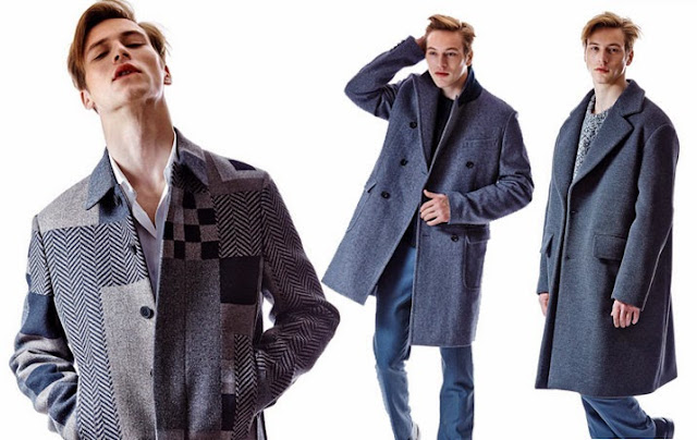 The new men's coat is north of normal: a longer, fuller boundary-pusher.