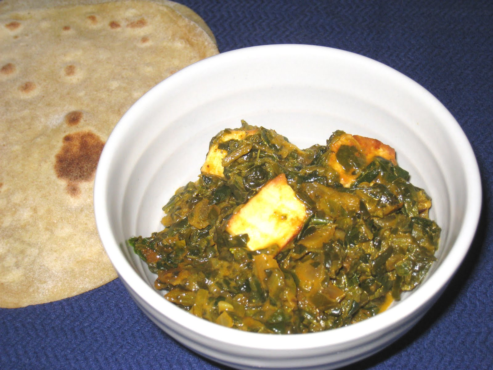 Cooking without a Net: Saag Paneer / Paalak Paneer