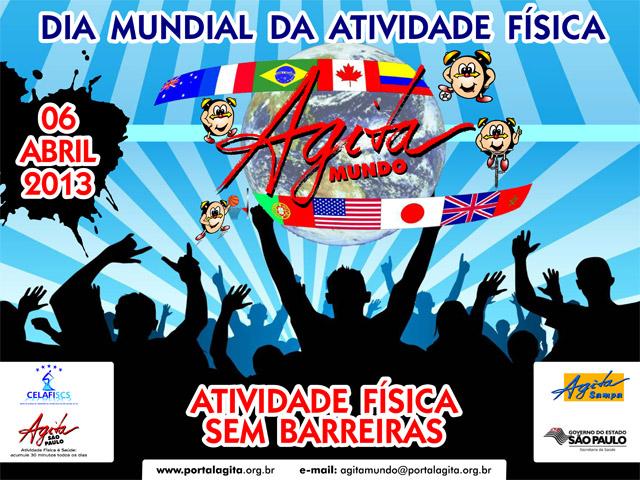 Campanha Agita Mundo. Foto: Divulgação