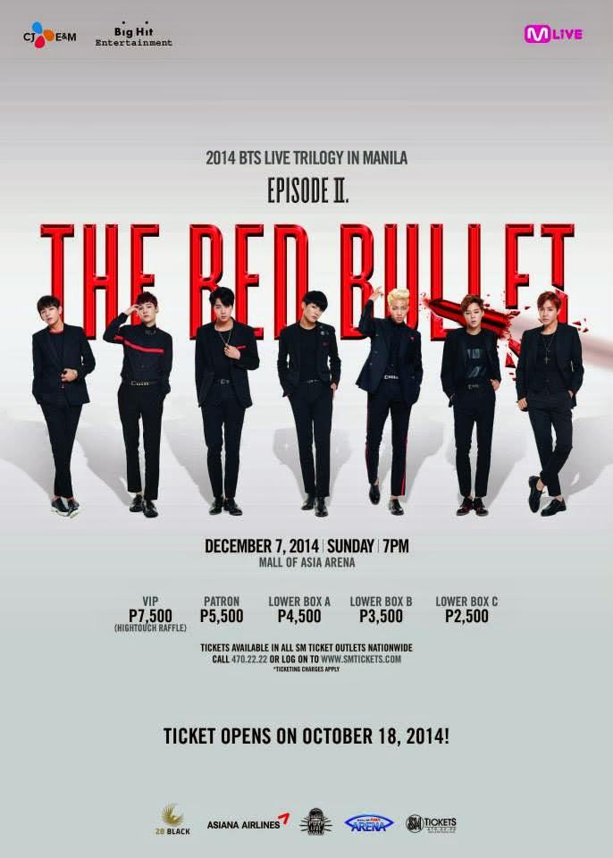 Bangtan Boys Live Tour Manila