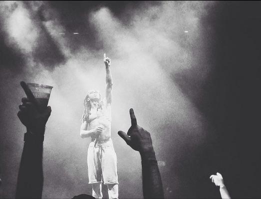 fotos del concierto gira tour drake vs lil wayne chicago