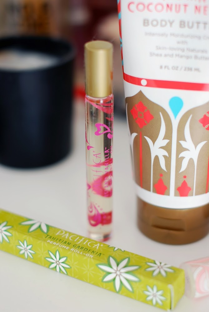 Pacifica Perfume Body Butter Lipgloss Roll on Perfume