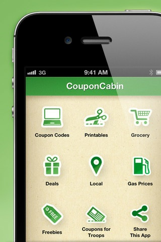 Reinventing motherhood coupon cabin app for Coupon cabin app
