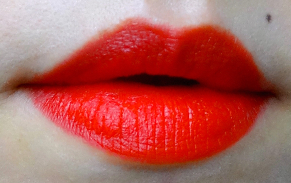 Tatcha Kyoto Red Silk Lipstick swatch