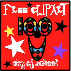 FREE 100 DAY CLIPART