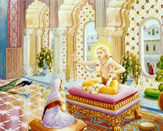 Lord Kapil & his teachings to his mother Devahuti