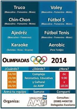 Olimpiadas de AMP 2014