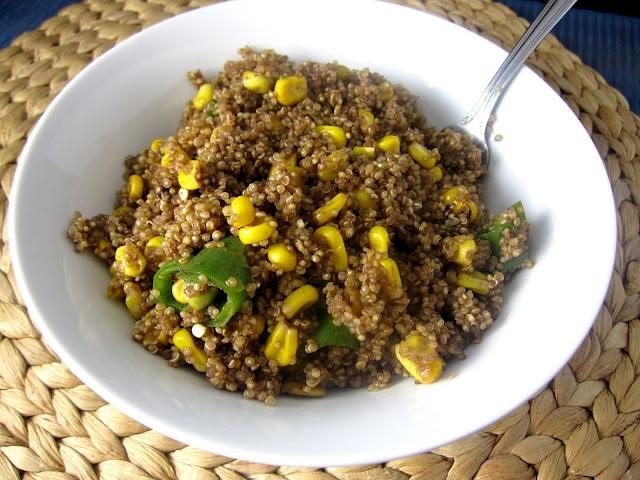 Jalapeno and Corn Quinoa