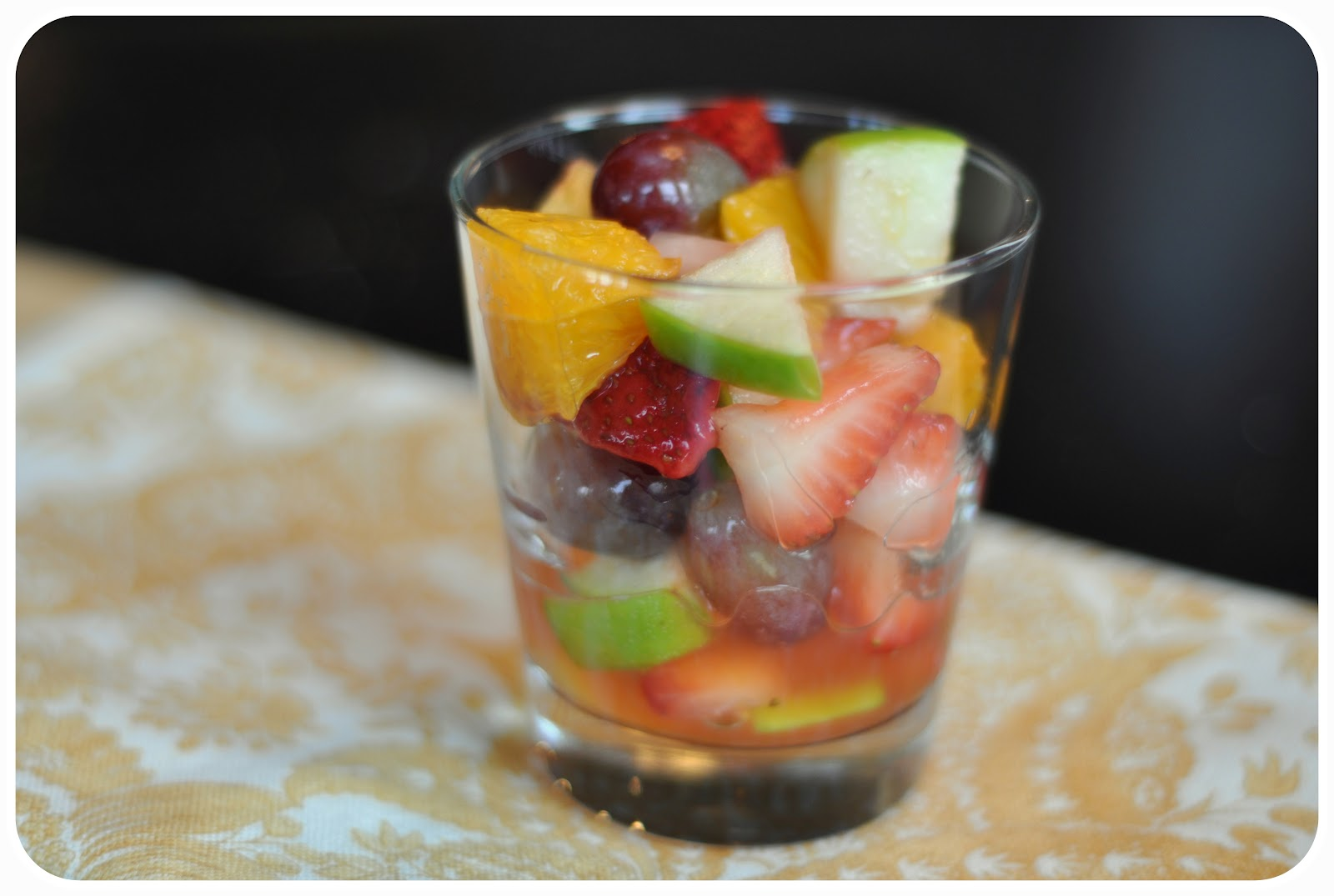 ... South Sweets: Deep South Eats: Fruit Salad with Honey Lime Dressing