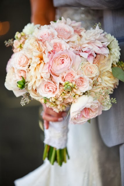 blush pink bouquets in september erin volante floral
