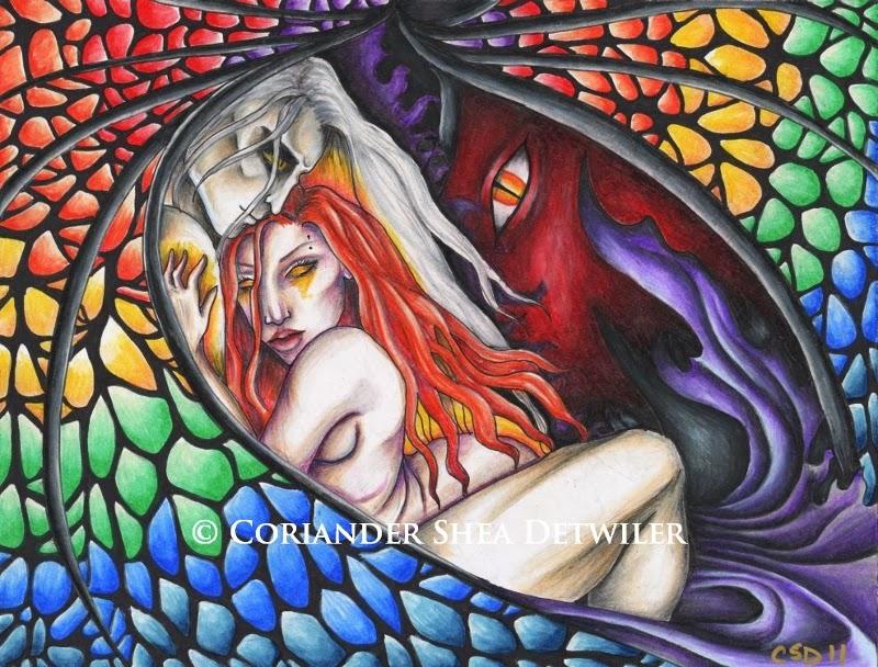 Forgotten Summer by Enchanted Visions Artist, Coriander Shea
