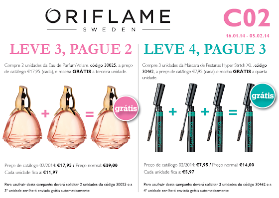 Flyer Oriflame - Catálogo 02 de 2014