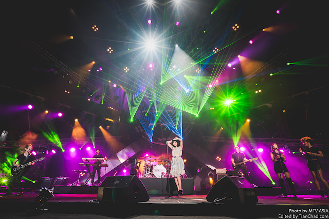 Carly Rae Jepsen performing at MTV World Stage Malaysia 2015 on 12 Sep (Credit - MTV Asia & Aloysius Lim)