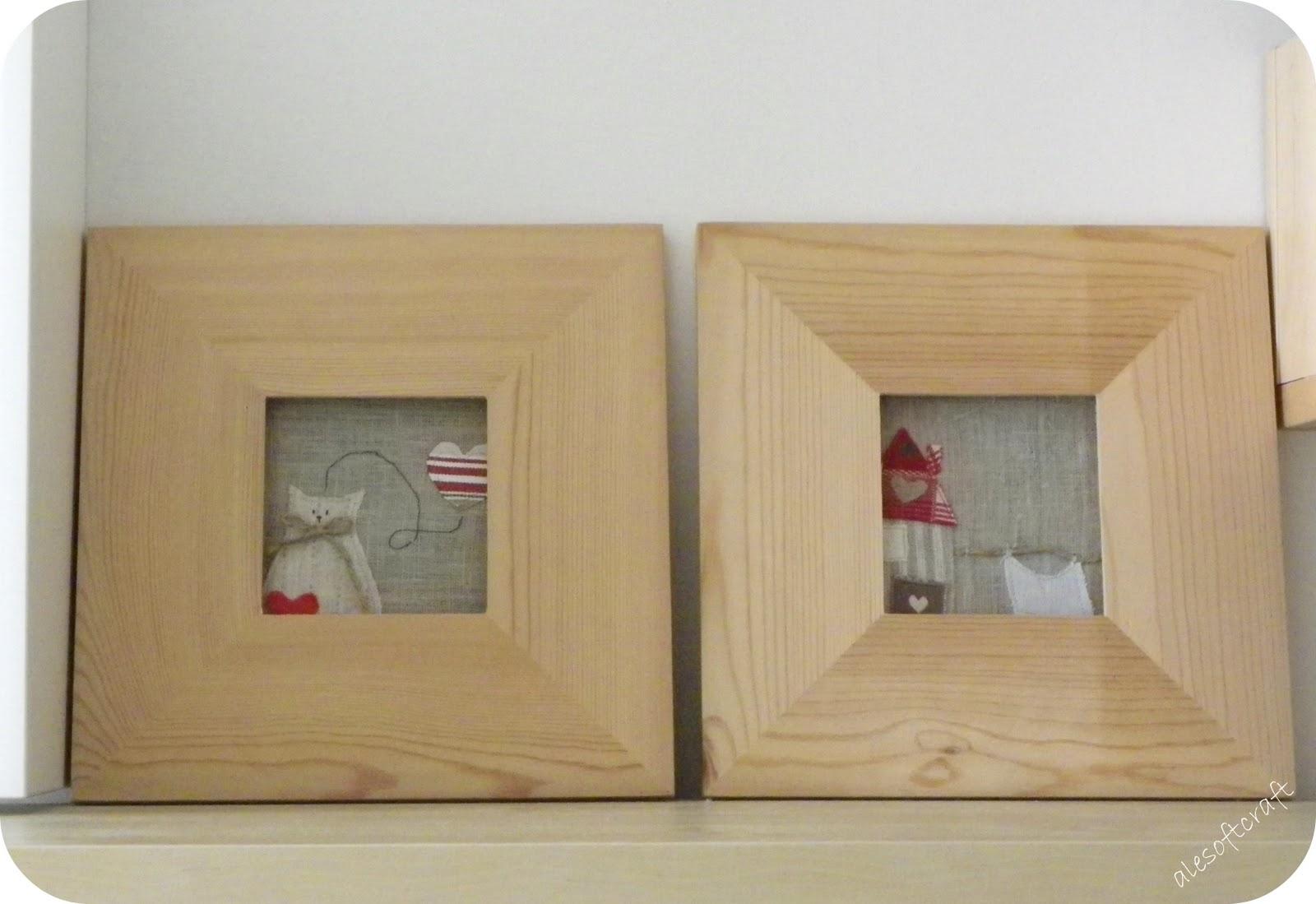Tessuti creativi by alesoftcraft lavanderia craft room for Quadretti ikea