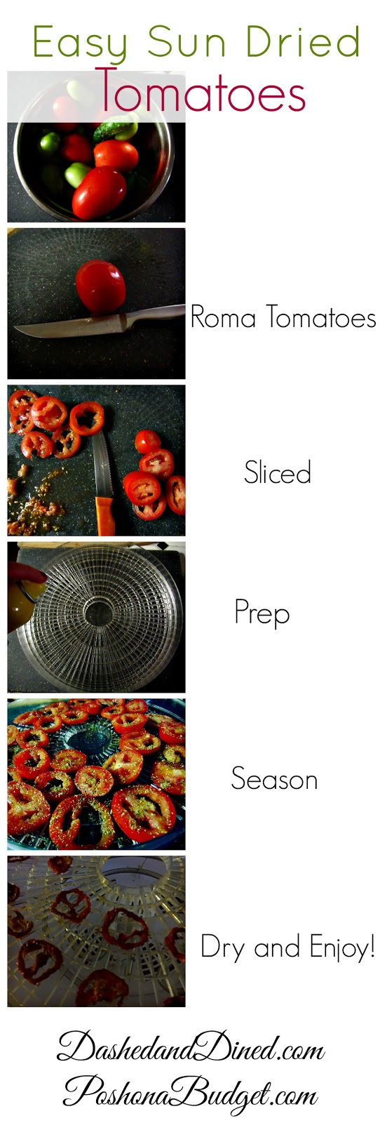 Easy Sun Dried Tomatoes