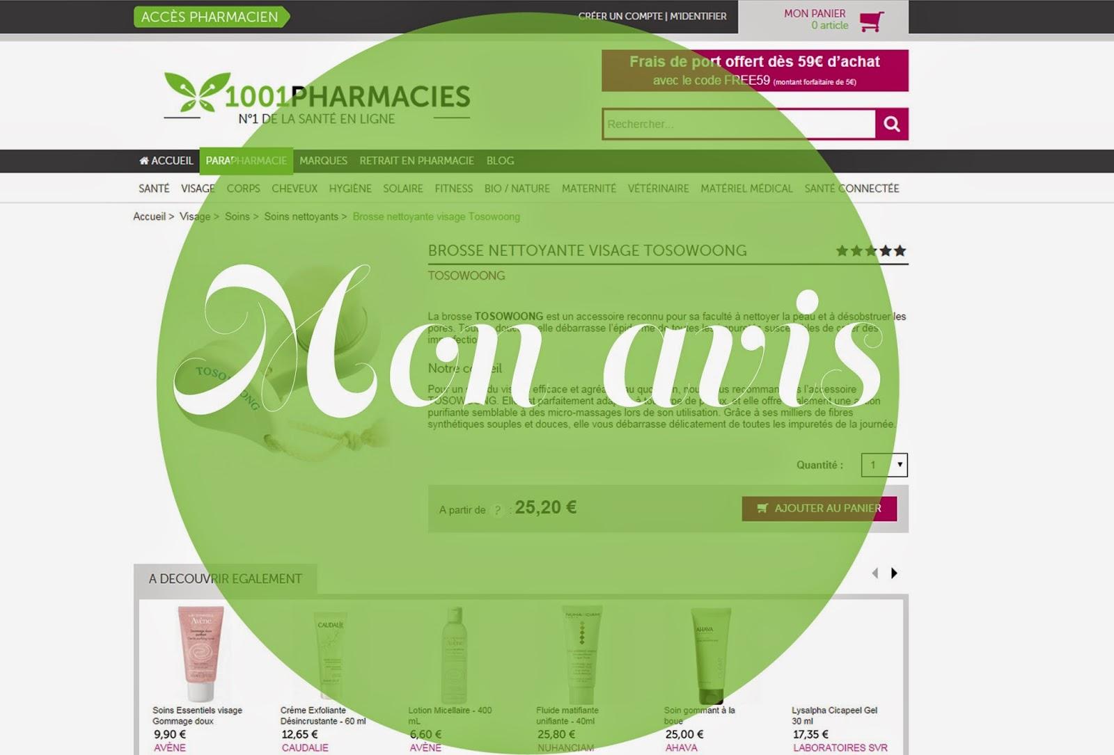 Mon avis sur le site 1001 pharmacies