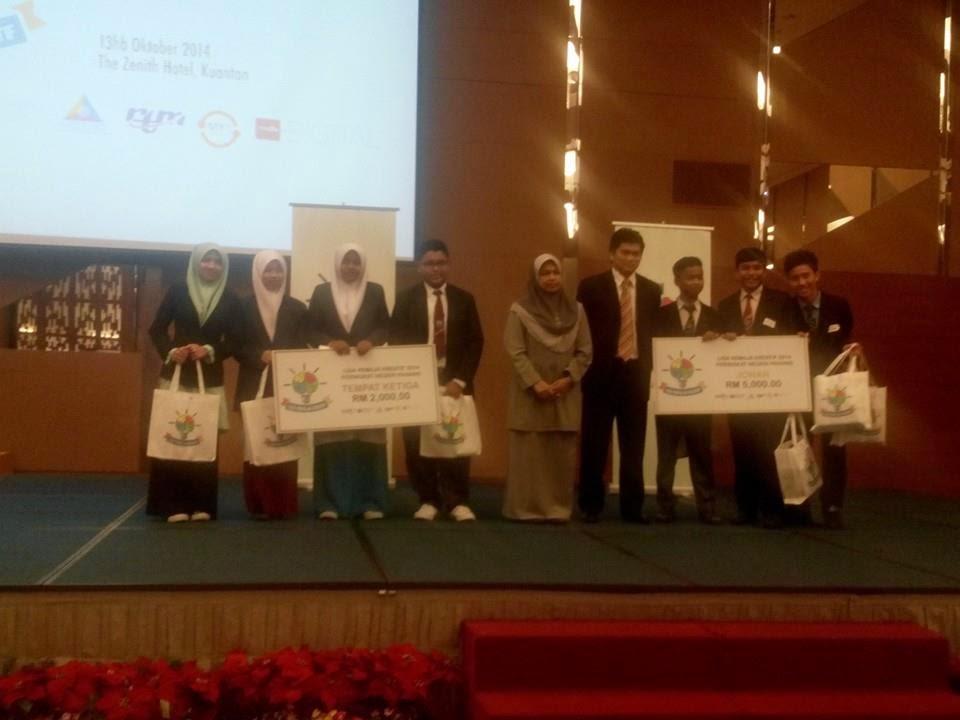Keputusan Liga Remaja Kreatif 2014 (Zon Timur)