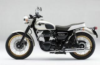 Kawasaki W800 Motor Terbaru Gaya Retro