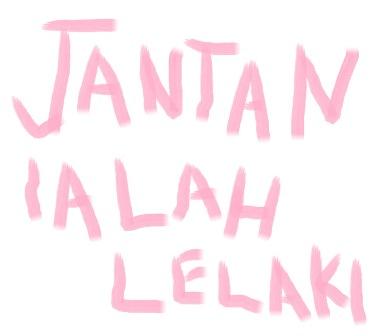 JANTAN IALAH LELAKI